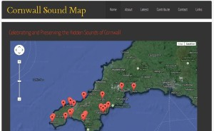 Cornwall Sound Map